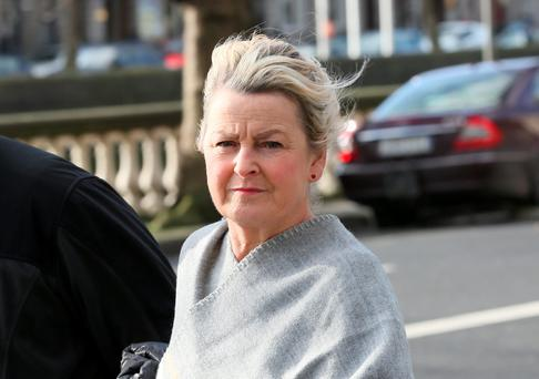Teresa Wall pictured at the Four Courts at a previous hearing. Photo: Courts Collins