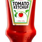 Heinz undated handout photo of a Tomato Ketchup bottle, as consumer goods giant Unilever has rebuffed a proposed mega-merger with global food firm Kraft Heinz Credit: Heinz/PA Wire