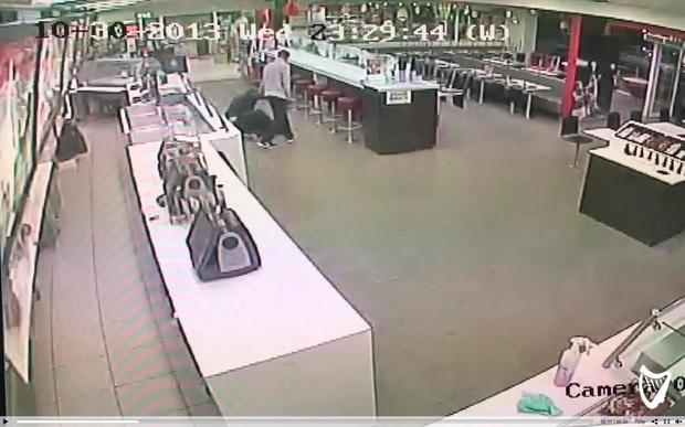 Footage from a Supermacs store in Cork given to independent.ie