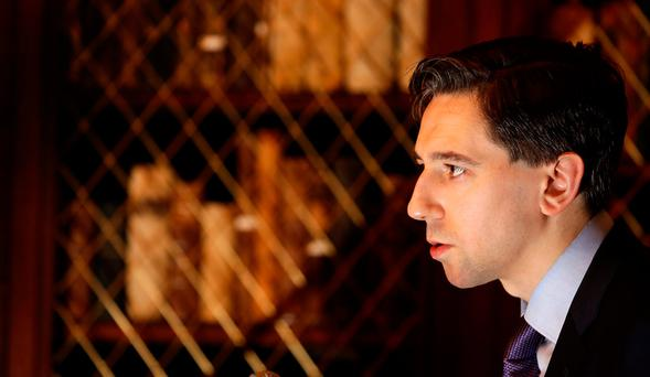 Health Minister Simon Harris said the error was discovered in 2014. Photo: Gerry Mooney