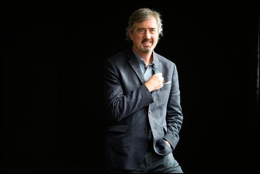 Beauty from darkness: Days Without End is writer Sebastian Barry's seventh novel. Photo: David Conachy.
