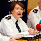 Garda Commissioner Nóirín O'Sullivan is under pressure.