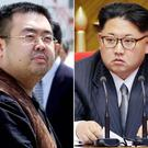 Kim Jong Nam, left, and North Korea's leader Kim Jong Un (AP Photos/Shizuo Kambayashi, Wong Maye-E, File)