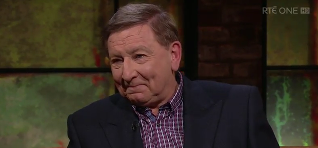 Fr Brian D'Arcy on The Late Late Show