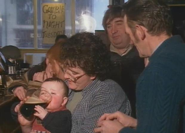 'Pint Baby' on Nationwide. Credit: RTE