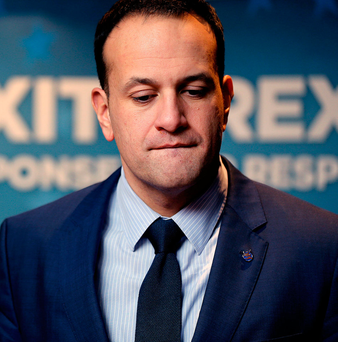 Man in waiting: Leo Varadkar. 'Star quality is an indefinable thing... and Leo has it right now' Photo: Gerry Mooney