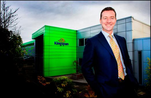 Gene Murtagh, CEO of Kingspan, at the company's headquarters in Cavan. Photo: David Conachy