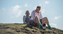 Ewen Bremner and Ewan McGregor in a scene from T2 Trainspotting