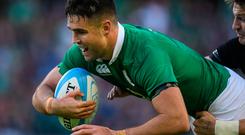 Conor Murray is relishing what will be a tough test against France next week. Photo: Sportsfile