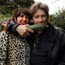 Homegrown: Victoria Mary Clarke with Shane MacGowan in the garden Photo: Tony Gavin