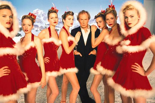 Warmth and humour: Bill Nighy's tribute to Robert Palmer in the original 'Love Actually', released back in 2003