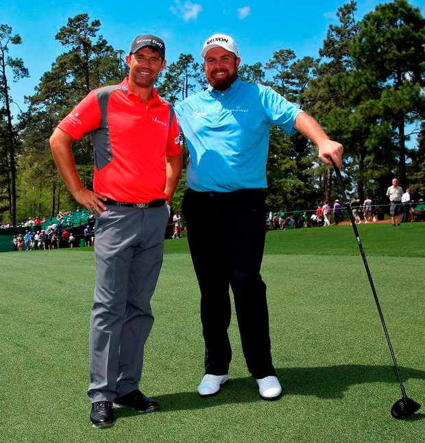 Padraig Harrington and Shane Lowry in 2015 Photo: Andrew Redington/Getty Images