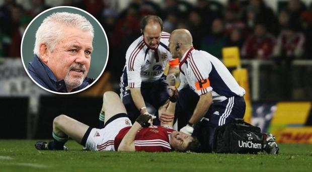 The 2005 Lions Tour was marred by the targeting of Brian O'Driscoll
