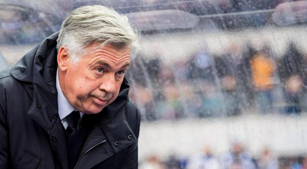 Ancelotti could be in trouble with the German FA after his obscene gesture. Getty Images