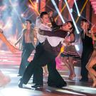 Des Cahill with Vitali Kozmin during the Switch up week in Dancing with the Stars.