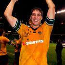 Former Australia lock Dan Vickerman. Photo: David Rogers/Getty Images