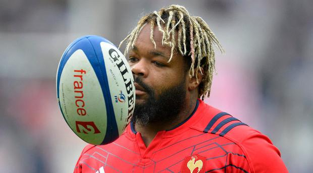 Mathieu Bastareaud is back in the France squad to face Ireland next Saturday. Photo by Aurelien Meunier/Getty Images