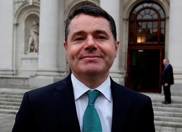 Paschal Donohoe. Photo: Tom Burke
