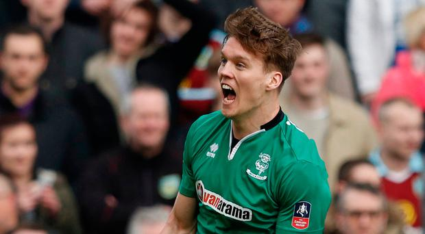 Lincoln's Sean Raggett Picture: Reuters