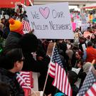 Mr Trump is due this week to introduce a new executive order seeking a new temporary ban on immigrants from predominantly Muslim countries after a US court struck down his previous order. Photo: Reuters
