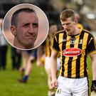 Eoin Larkin was not happy with Kilkenny's display