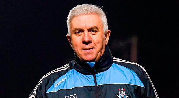 Dublin manager Ger Cunningham. Photo by Stephen McCarthy/Sportsfile