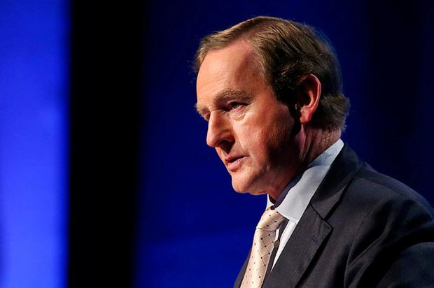 Taoiseach Enda Kenny. Photo: Steve Humphreys