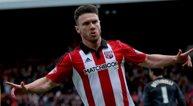 Scott Hogan's career has been plagued by injuries Photo: Getty Images
