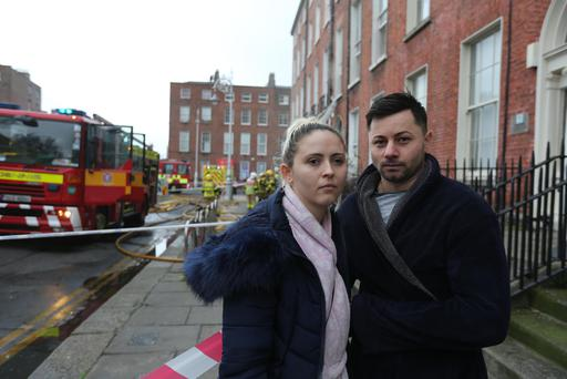 Harah Alexahdra and Boziahu Vasile Viorel had only been renting their apartment for a week Photo: Gerry Mooney