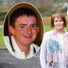 Ann McKee (61) and her husband Samuel (63) lost their son Christopher (inset) to Meningitis