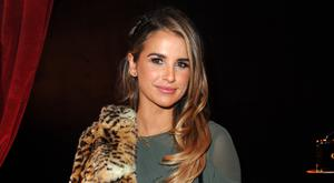 Vogue Williams attends the Aspinal of London - Presentation during the London Fashion Week February 2017 collections on February 20, 2017 in London, England. (Photo by Eamonn M. McCormack/Getty Images)
