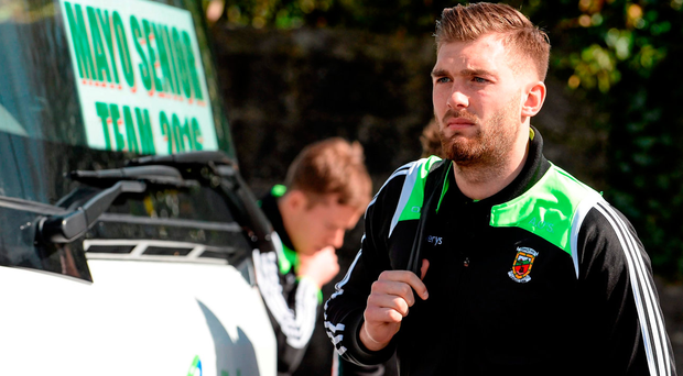 Aidan O'Shea's return may be delayed. Photo: Brendan Moran/Sportsfile