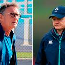 Guy Noves and Joe Schmidt will by be trying to outmanoeuvre each other this weekend