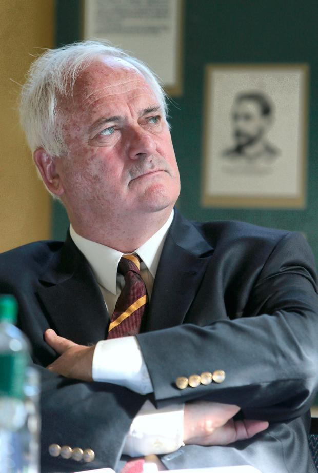 John Bruton at the Parnell Summer School in Wicklow in 2014. Photo: Damien Eagers