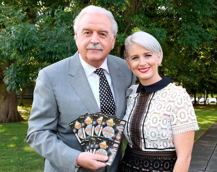 Marty Whelan and Sinead Kennedy. Photo: Mac Innes Photography