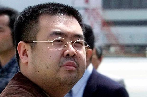 FILE - This May 4, 2001, file photo shows Kim Jong Nam, exiled half-brother of North Korea's leader Kim Jong Un, in Narita, Japan. No cause of death has been determined yet for Kim Jong Nam who died last week after apparently being poisoned in a Kuala Lumpur airport, officials said. (AP Photos/Shizuo Kambayashi, File)
