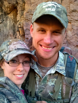 Walker Daughtery pictured with his fiancée. Picture: Gofundme