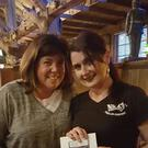 Irish waitress Imelda Murphy Sprenger received a €2400 tip. Image: Nick's Pizza & Pub/Facebook