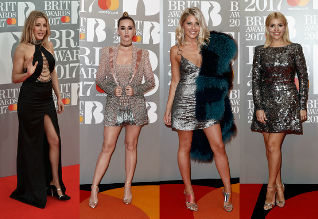 25 Best and Worst Dressed at the Brit Awards 2017. Images: Getty