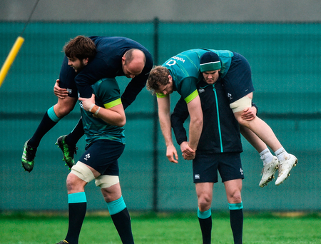 Watch the Irish rugby team announcement