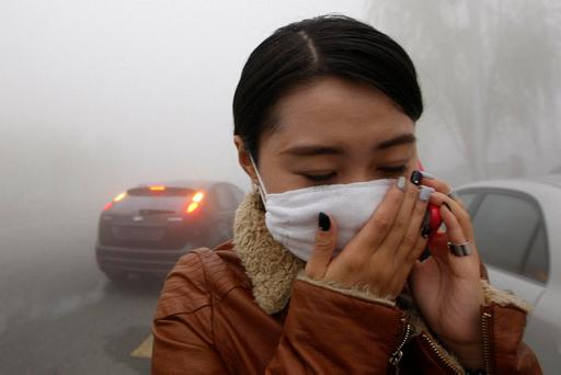 Pollution can affect our sense of smell and taste