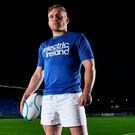 Ireland international Ian Madigan yesterday announced Electric Ireland's continued support of the Ireland U20s 2017 Rugby Six Nations home games in Donnybrook. Photo: Ramsey Cardy/Sportsfile