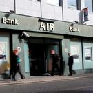 AIB is closing half of its bank branches in Northern Ireland Ireland as part of a dramatic shake-up. Photo: Bloomberg