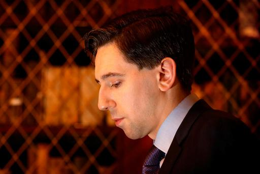 Simon Harris was quizzed by the Oireachtas Health Committee. Photo: Gerry Mooney