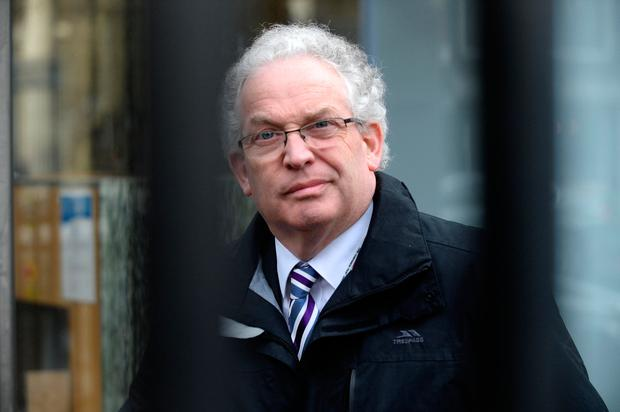 HSE chief Tony O'Brien at Leinster House. Photo: Justin Farrelly