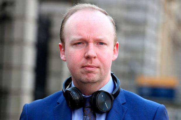 Sources said Fine Gael TD Noel Rock was told to 'put down his pen and listen', while Martin Heydon said the party was now united. Photo: Tom Burke