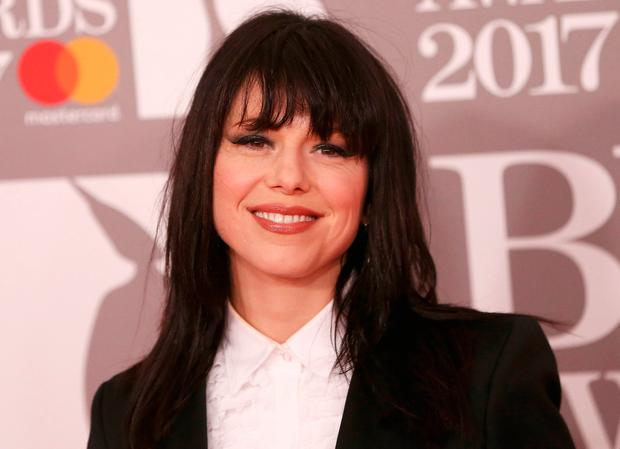 Imelda May arrives for the Brit Awards at the O2 Arena in London