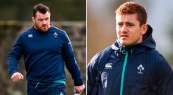 Cian Healy and Paddy Jackson move to the bench this week