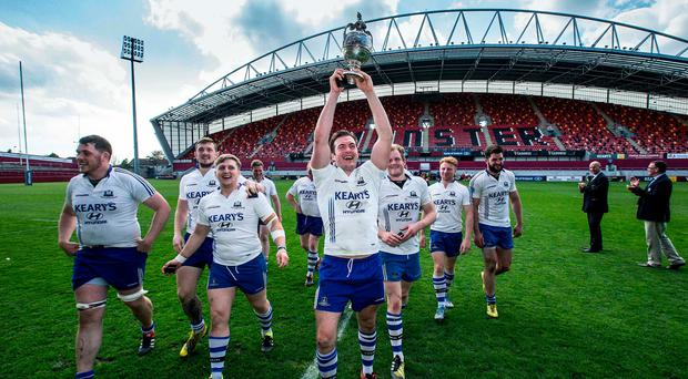 Cork Con are chasing fifth consecutive senior cup. Photo credit ©INPHO/Cathal Noonan