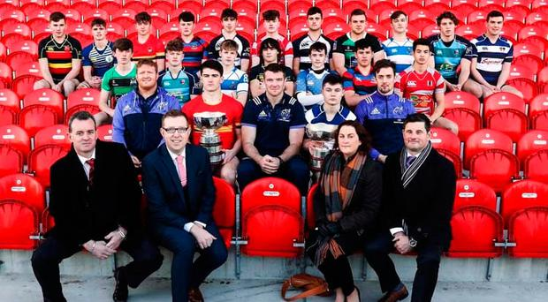 Players contesting the Munster schools competitions. Photo credit ©INPHO/Tommy Dickson